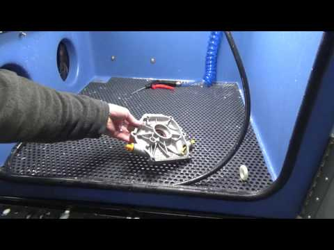 New Hydro Blast Parts Washer- Vapor Honing Technologies
