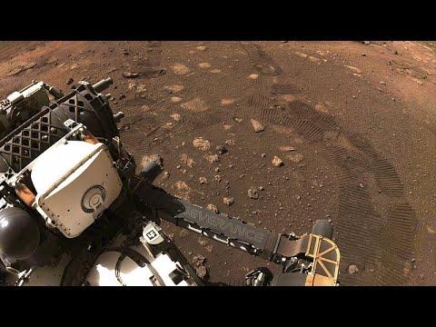فيديو | الروبوت -برسيفرنس- يتحرّك للمرة الأولى على سطح المريخ…  - 12:59-2021 / 3 / 6