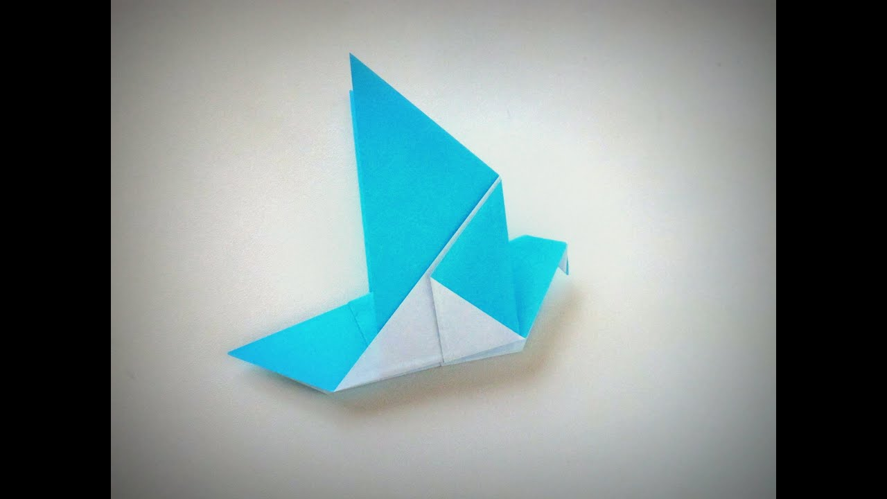 Origami Dove 🕊️| Paper Pigeon - Easy Step By Step Tutorial - YouTube | 720x1280