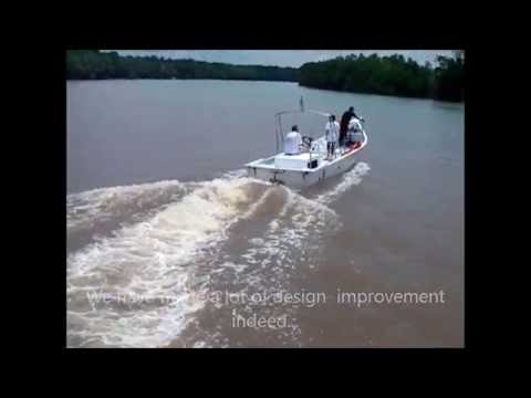 Eco Surface Drives | 1st Test Boat