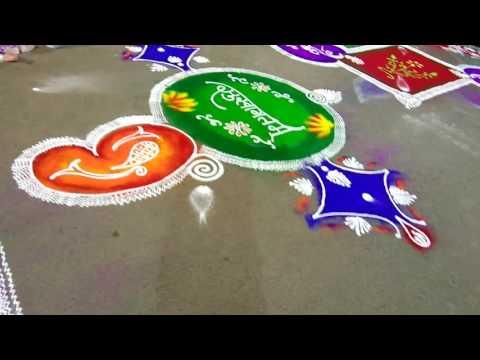 Rangoli arts