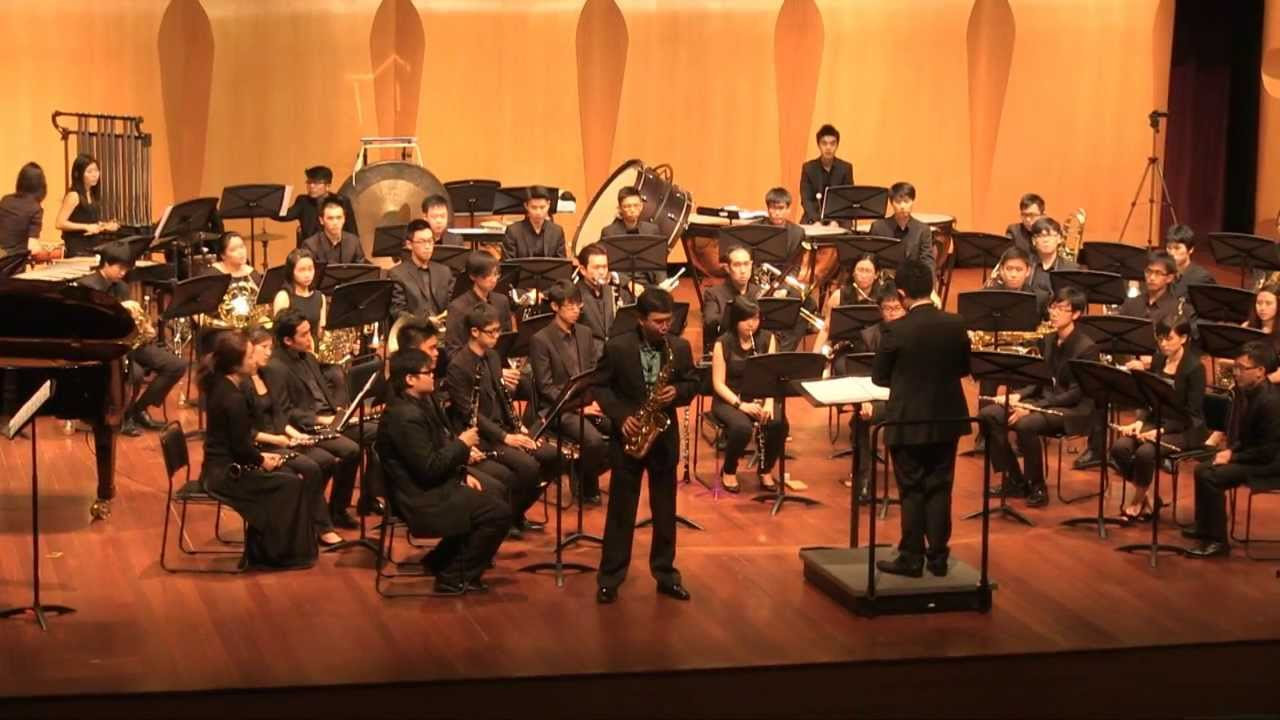 Zechariah Goh: Concerto for Alto Saxophone and Wind Ensemble
