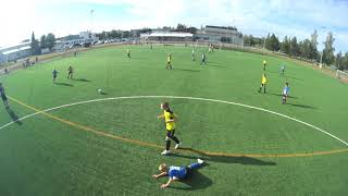 PJK Sininen - NoPS, 17.6.2019, Liiga (4) Peli 3/4 (alku)