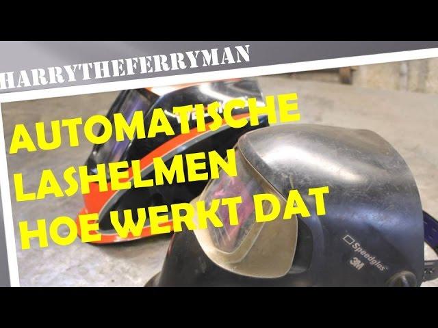 AUTOMATISCHE LASHELMEN HOE WERKT DAT!!