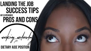 Working as a dietary aide: job description, pros and cons, how to apply and success tips