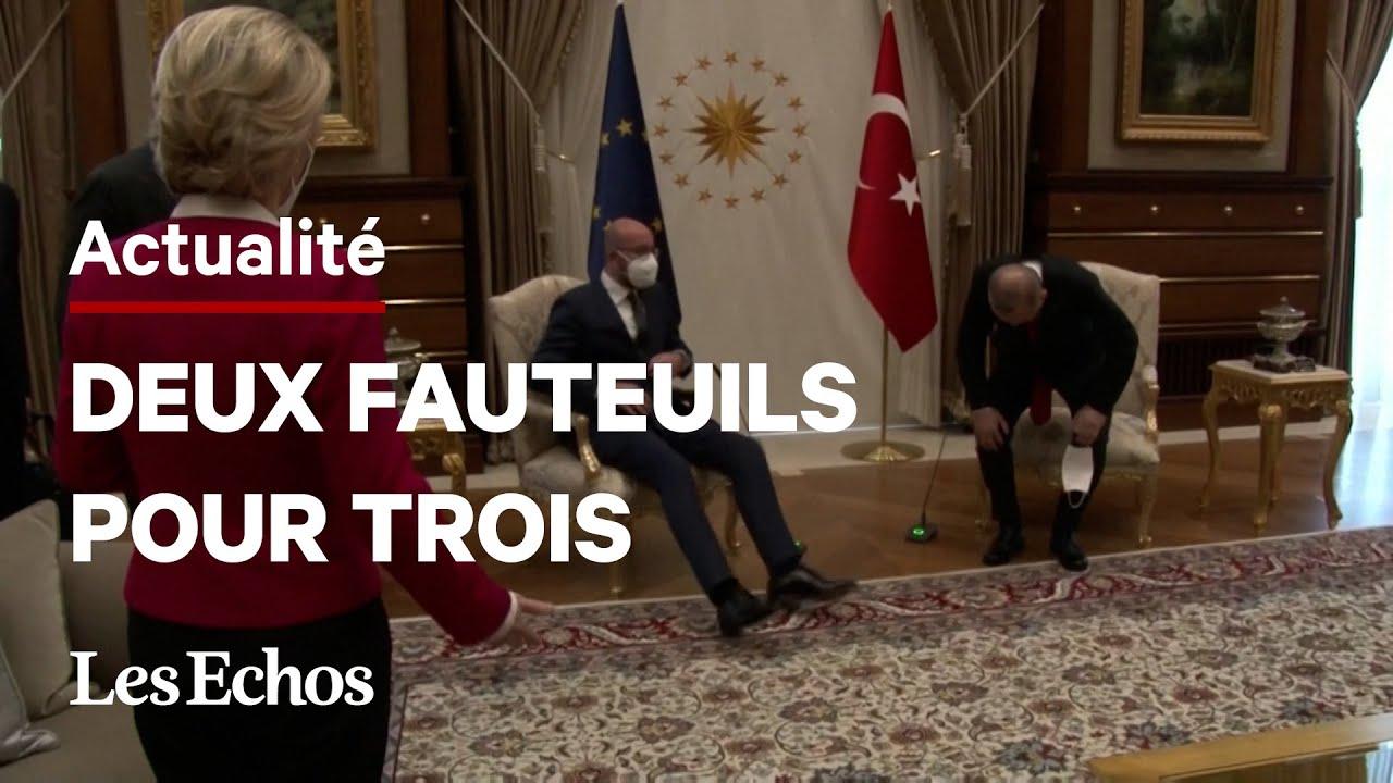 """Le """"sofagate"""" d'Erdogan à Von der Leyen fait bouillir Bruxelles"""