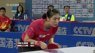 2016 China Super League: CHEN Meng vs HIRANO Miu [Full Match/Chinese|HD]