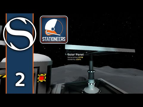#2 Stationeers - Stationeers Gameplay [Power and Crafting]