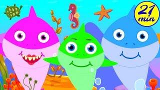 Baby Shark Song | +More Nursery Rhymes - Ingrid Surprise