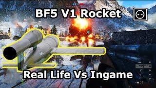 Battlefield 5 V1 Rocket: Real Life vs Ingame - Soundcheck & Flying (Fieseler Fi 103 | WW2 Missile) Mp3