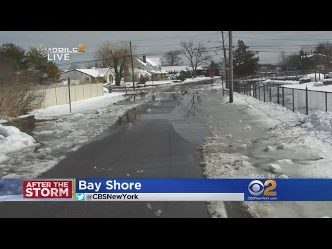 Roads Clear Up In A Hurry On Storm-Battered Long Island