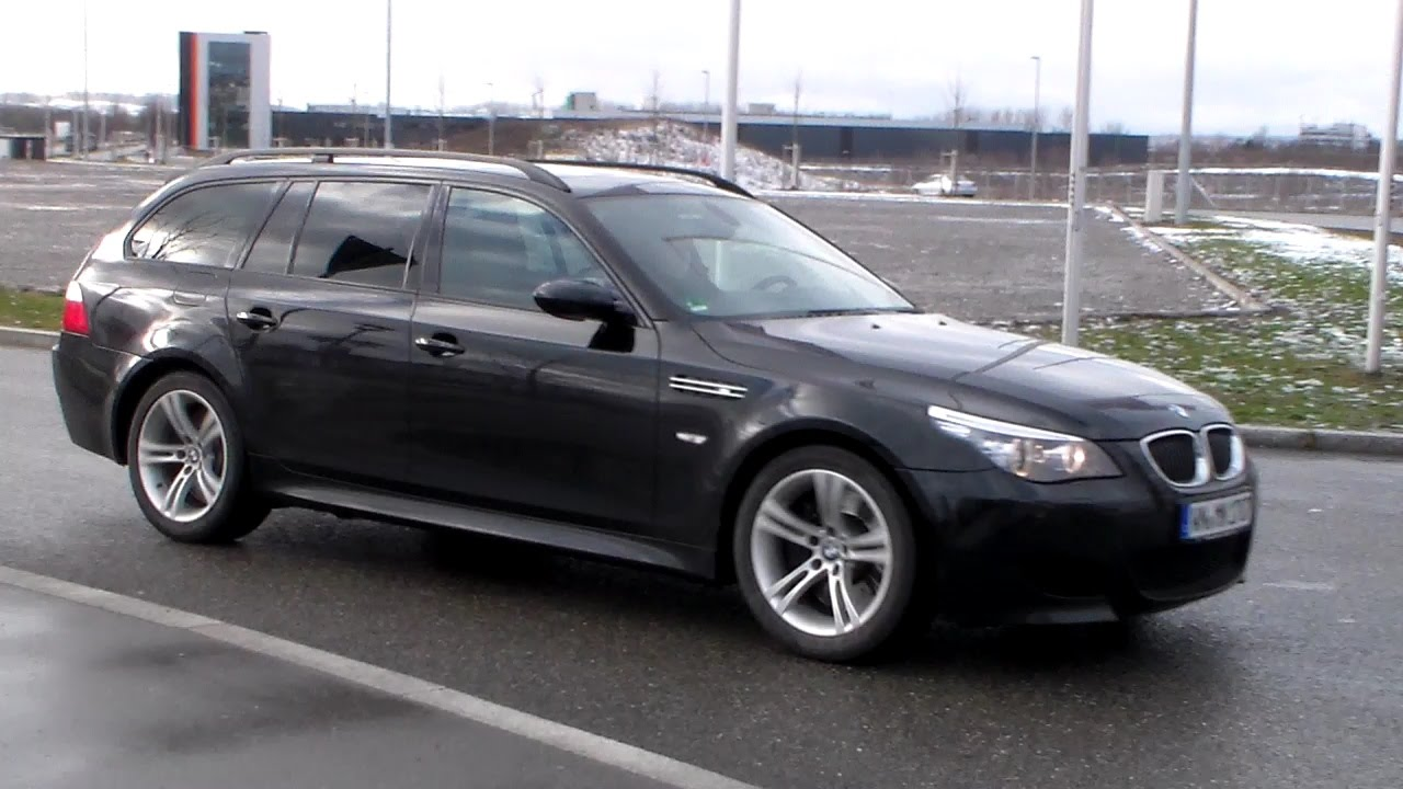 bmw m5 v10 touring lovely sound hd youtube. Black Bedroom Furniture Sets. Home Design Ideas
