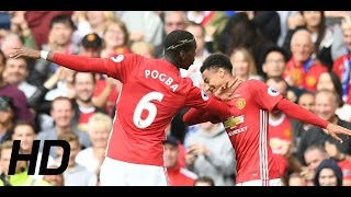 Man United Vs Leicester City 4 - 1 Highlights & All Goals || 24/09/2016 || HD || Premier League