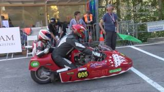 EXTREMELY LOUD Vintage Classic Motorbikes and Sidecars at Hillclimb Bergrennen Gurnigel 2016