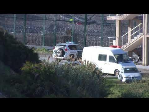 250 subsaharianos intentán llegar a Ceuta por la zona fronteriza de Benzú