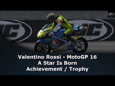 Valentino Rossi MotoGP 16 A Star Is Born Achievement / Trophy