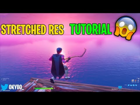How to get OG Stretched Resolution in Season 2 Fortnite.. (TUTORIAL)