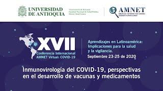 Presentaciones Orales I y conferencia: Inmunovirología del COVID19