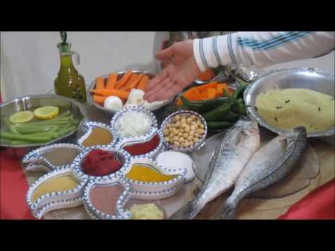 couscous-au-poisson-bogue-(bougua)-recette-tunisienne-كسكسي-بسمك-البوقة