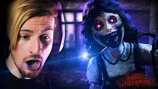SHE KNOWS WE'RE HERE.. || Dark Deception (Chapter 2 SCHOOL Complete)