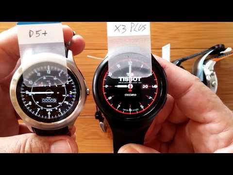Best Of The Best: D5+, X3plus, X5plus, LEM5, Q3plus Android 5.1 Smartwatches Compared!