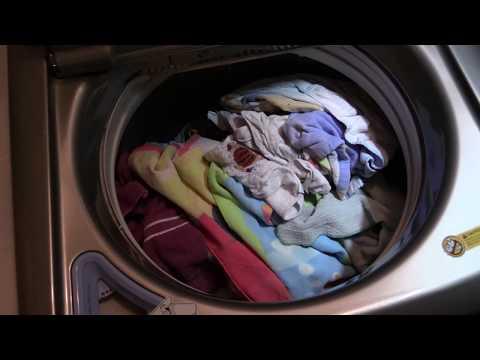 LG Mega Capacity Washer Cotton/Normal Cycle washing towels