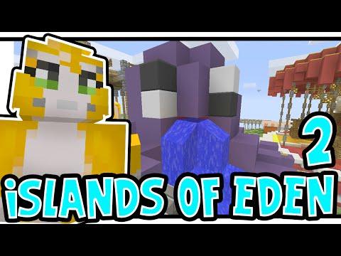Minecraft Xbox - ISLANDS OF EDEN 2! - Theme Park! [2]