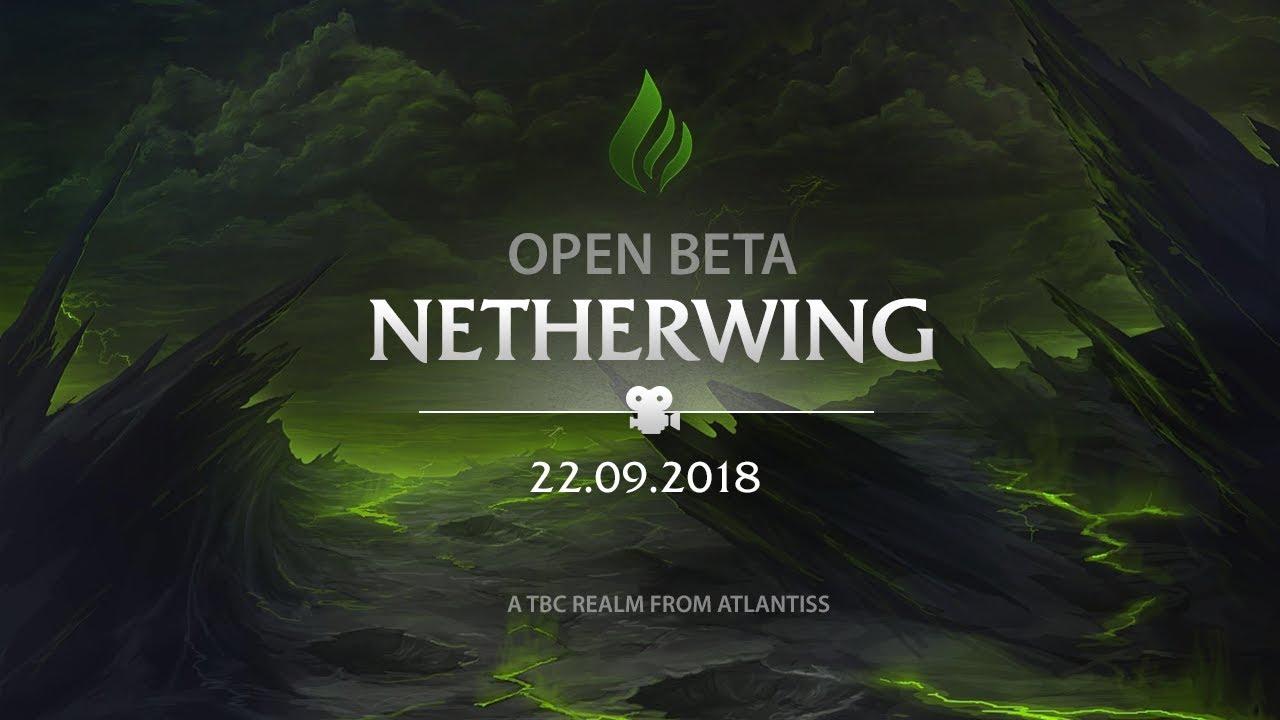Netherwing Beta Announcement And Dev Update - Atlantiss