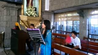"""IKAW"" my wedding song for brother and new sister Karen"