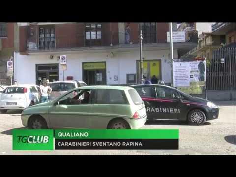 Qualiano, carabinieri sventano rapina alle poste: 3 arresti