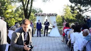 Выездная церемония Екатерины и Сергея. 30 сентября, 2017. Мариуполь, Урзуф, Азовское море