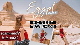WHY WE CUT OUR EGYPT TRIP SHORT | What to Expect & Travel Tips | CAIRO Travel Vlog | Sophie Ramos