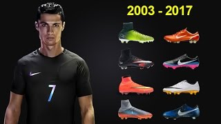 The Evolution of Cristiano Ronaldo