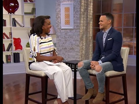 Grammy Award nominated singer Tauren Wells with Maggie John
