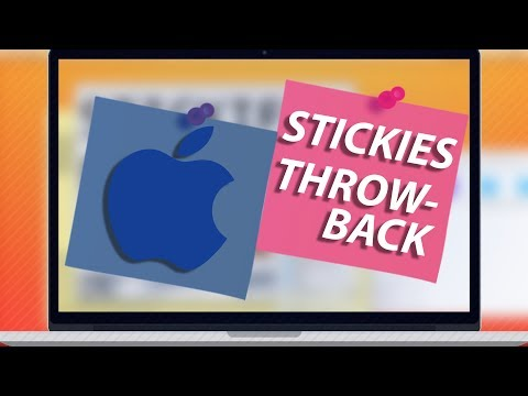 Stickies For Mac: An Underrated Throwback!