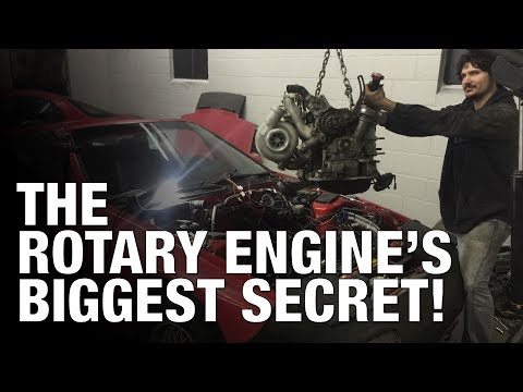 The SECRET Behind Why RX7 and RX8 Rotary Engines Make SO