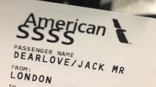 What does 'SSSS' on my boarding pass mean?