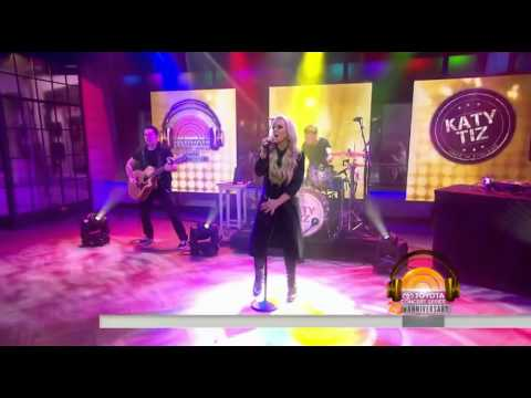 Katy Tiz 'Whistle (While You Work It)' LIVE on The Today Show 6.10.15