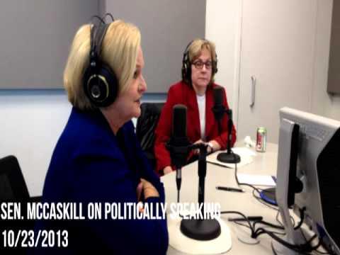 Senator McCaskill Slams Missouri Legislature on Politically Speaking 10/23/2013