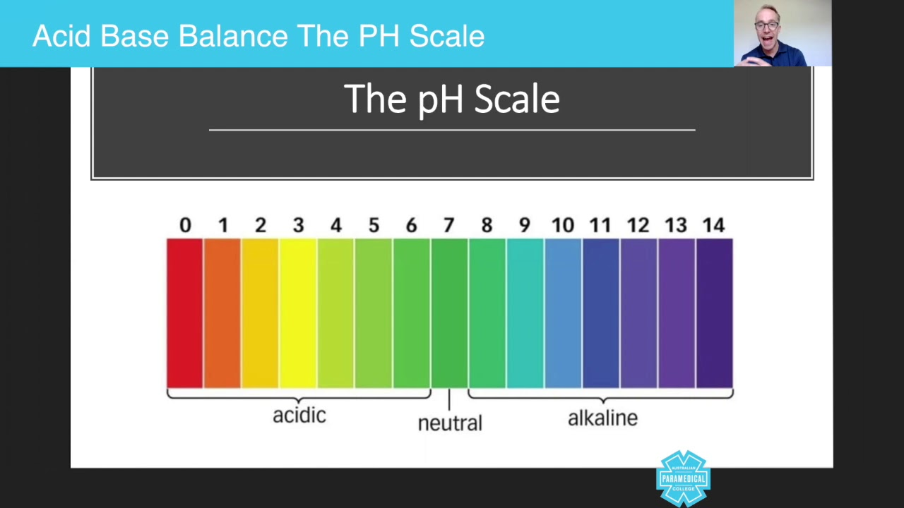 hight resolution of paramedics course acid base balance the ph scale australian paramedical college
