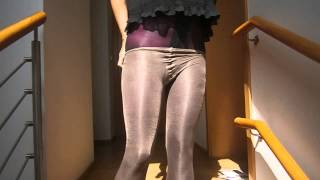Repeat youtube video Putting pantyhose layers