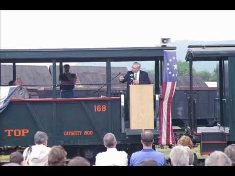 Lee Rainey's Remarks at the East Broad Top Railroad's Opening Day (June 5, 2010)
