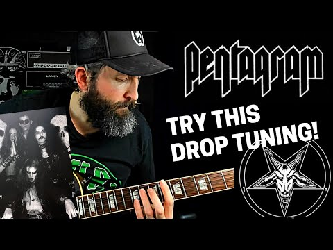 Doom Metal Guitar   The Drop Tuning Youve Never Tried  Pentagram All Your Sins TAB