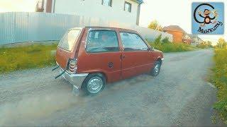 Дети и машина. Меняем колёса на машинке из мультика Маша и медведь. МанкиМобиль #5