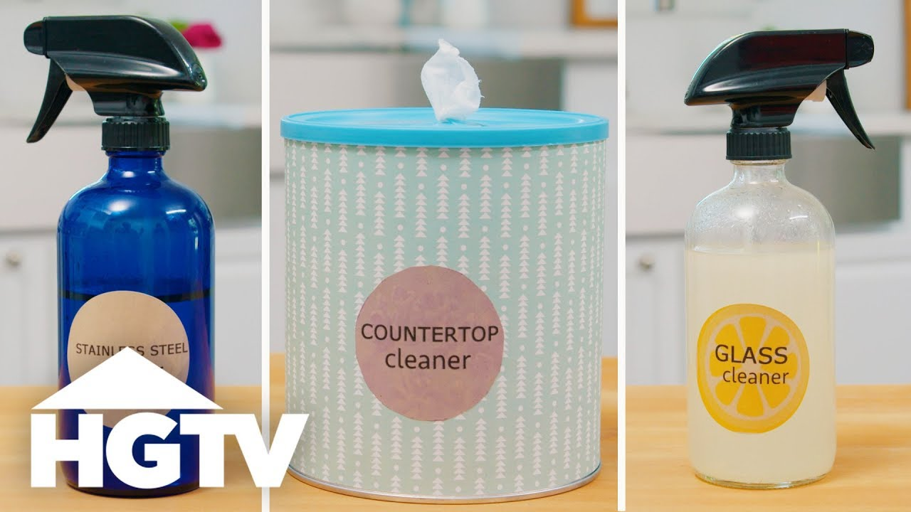 3 DIY Kitchen Cleaners - HGTV - YouTube