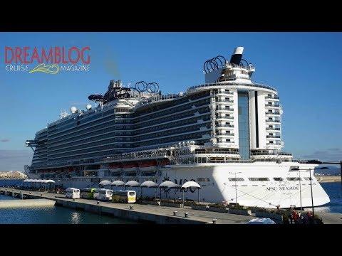 MSC Seaside, complete ship tour