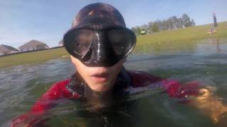 connectYoutube - first vlog pond diving