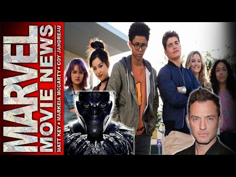 Runaways Review, Jude Laws in Talks For Captain Marvel, & Mo