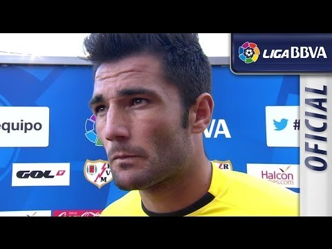 Interview Adán after Rayo Vallecano (3-1) Real Betis - HD