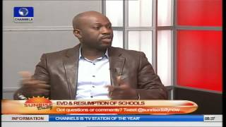 Schools Resumption: Doctors Were Willing To Wait Till December- Akinwotun Pt 1